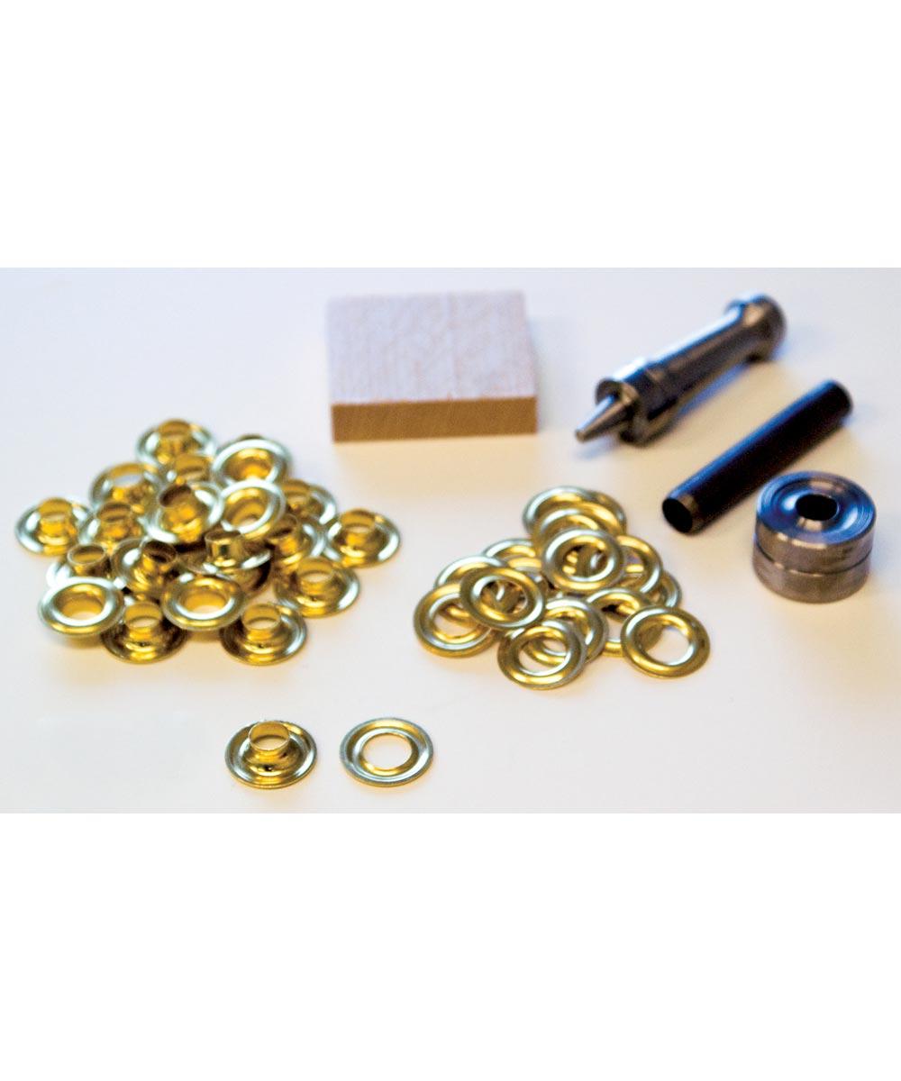 #1 Brass Handi-Grommet Kits 24 Count