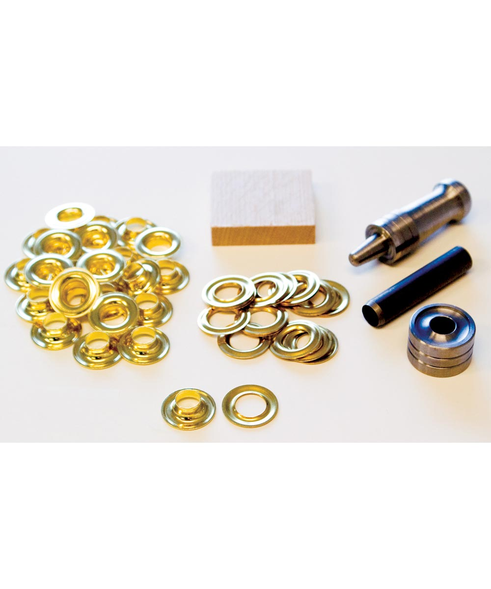 #2 Brass Handi-Grommet Kits 24 Count