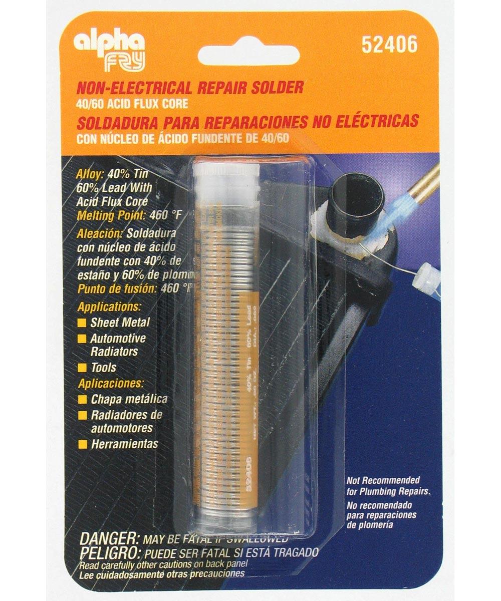 40/60 Acid Core Solder & Dispenser