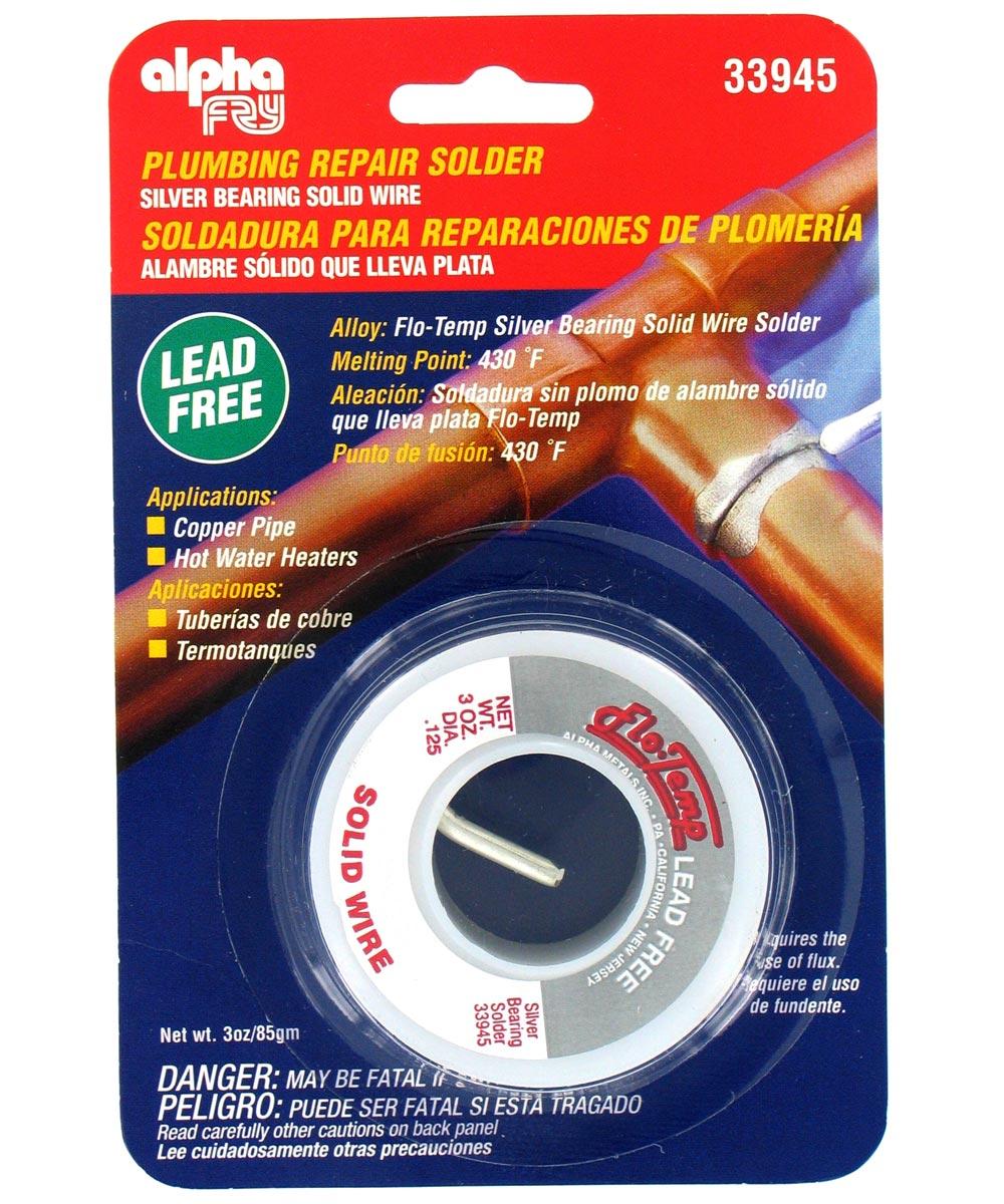 Flow-Temp Lead-Free Plumbing Solder
