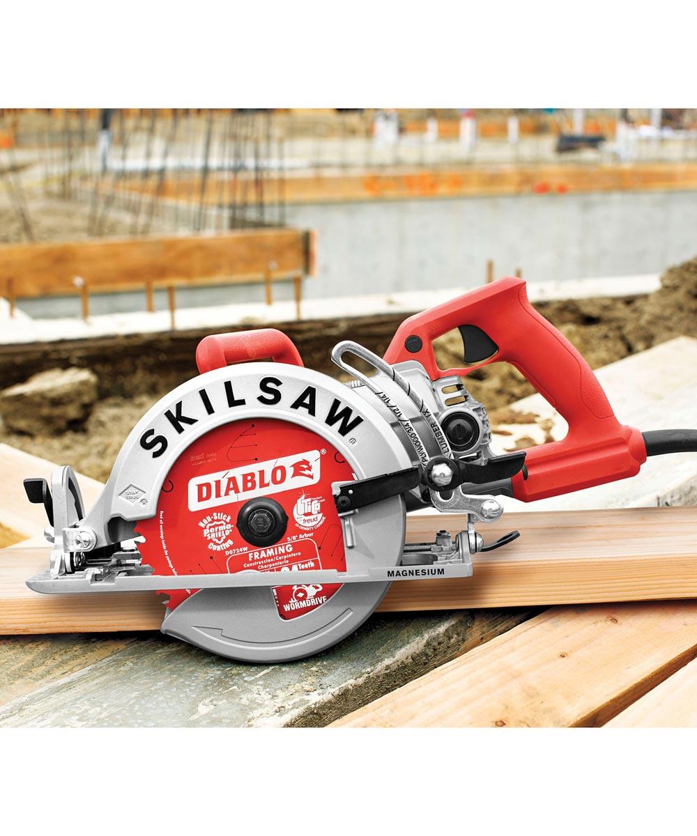 SKILSAW 7-1/4 Inch Magnesium Worm Drive Circular Saw