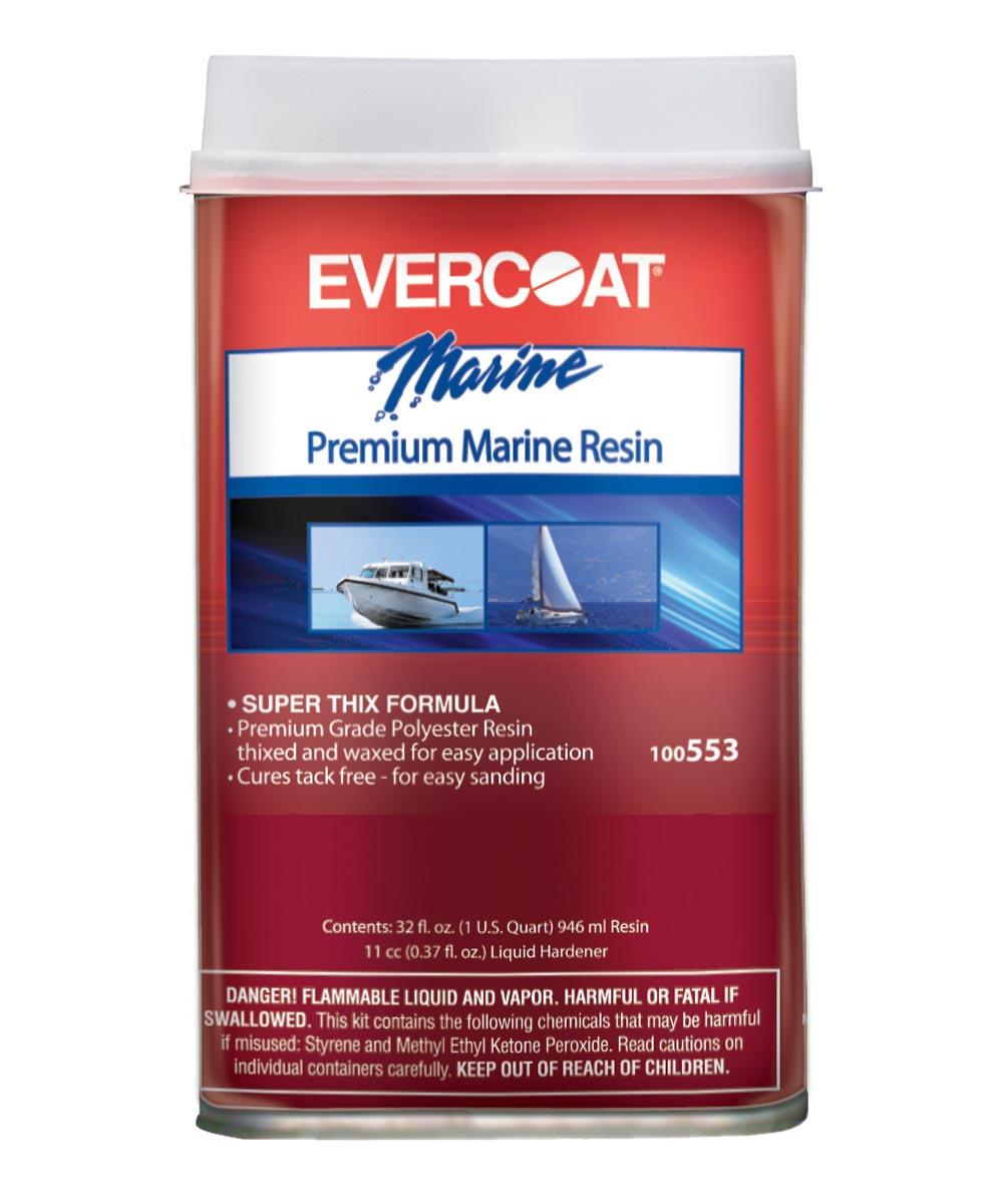 1 Quart Premium Marine Resin