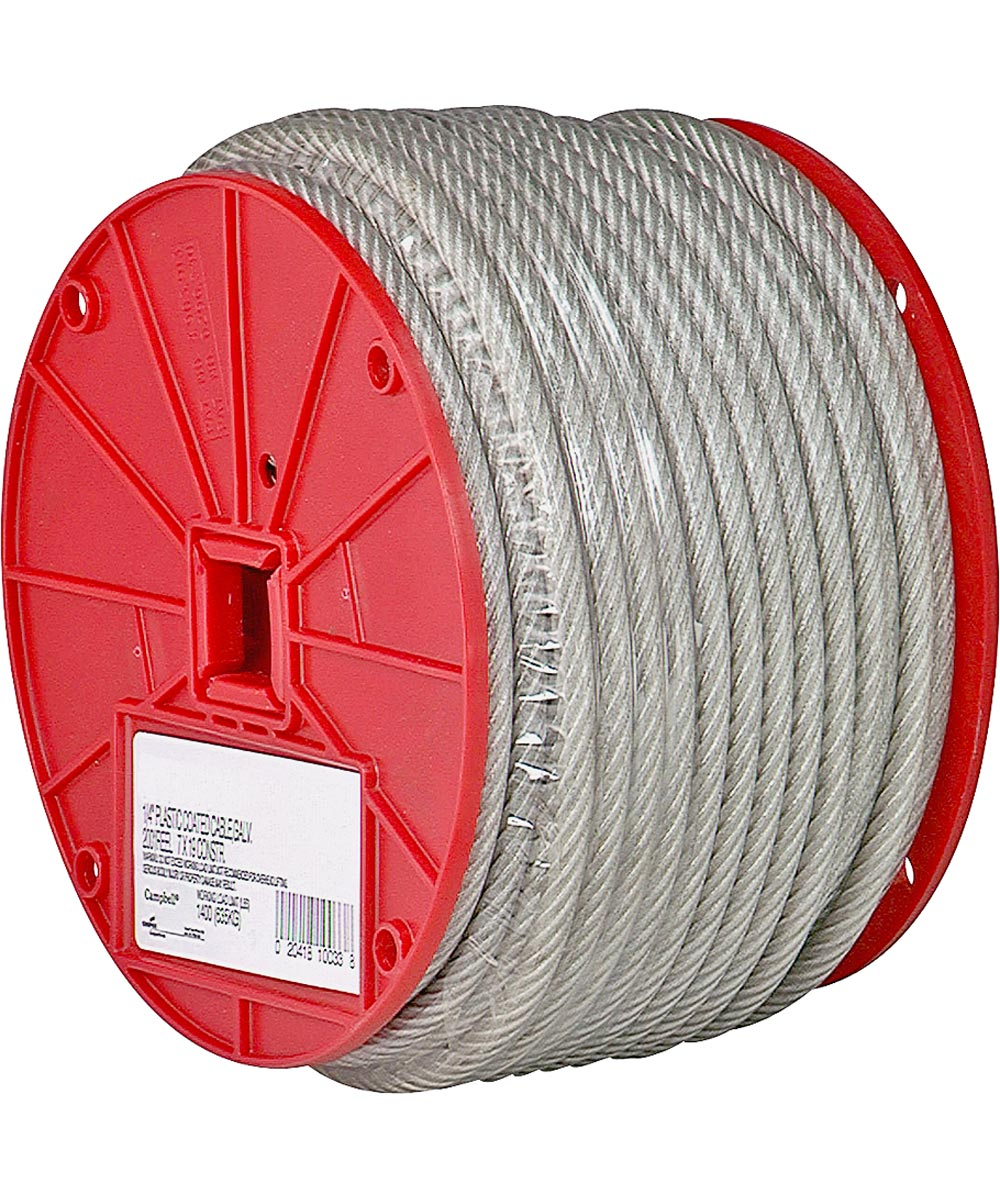 Extra Flexible Aircraft Cable, 3/16 in. (Dia), 840 lb (Sold Per Foot)