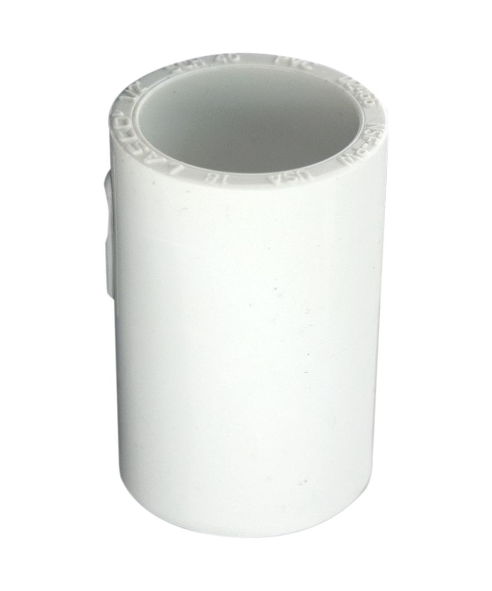 1 in. PVC Coupling, Slip x Slip, Schedule 40, 10 Pack