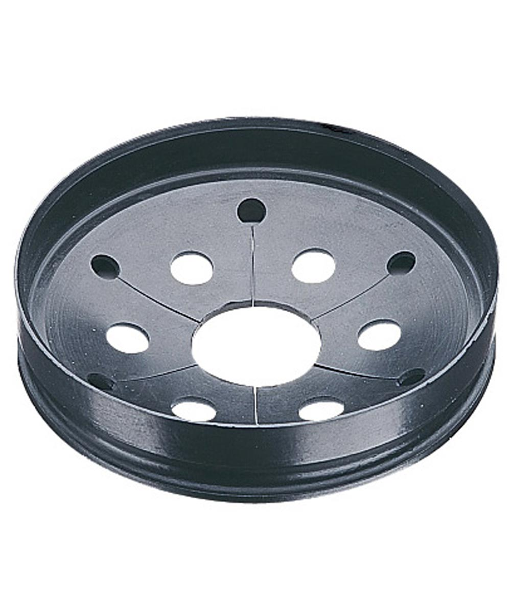 InSinkErator 3-1/4 in. Black Quiet Collar Sink Baffle