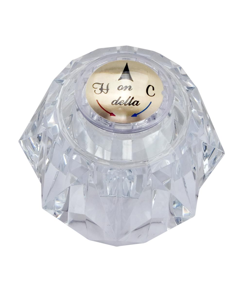 Acrylic Tub/Shower Faucet Knob Part # DRP2391