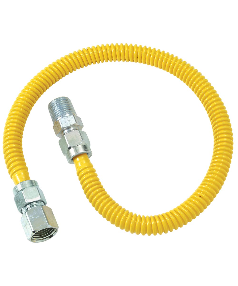 36 in. Stainless Steel Gas Heater Connector