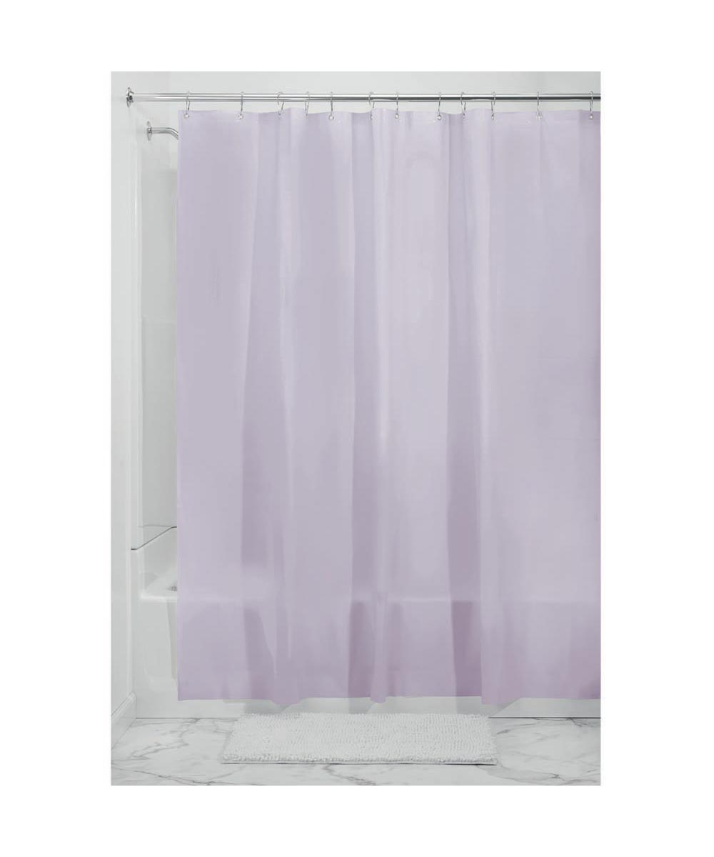 72x72 Inch EVA Vinyl PVC-Free Shower Curtain Liner with Metal Grommets, Lavendar Color