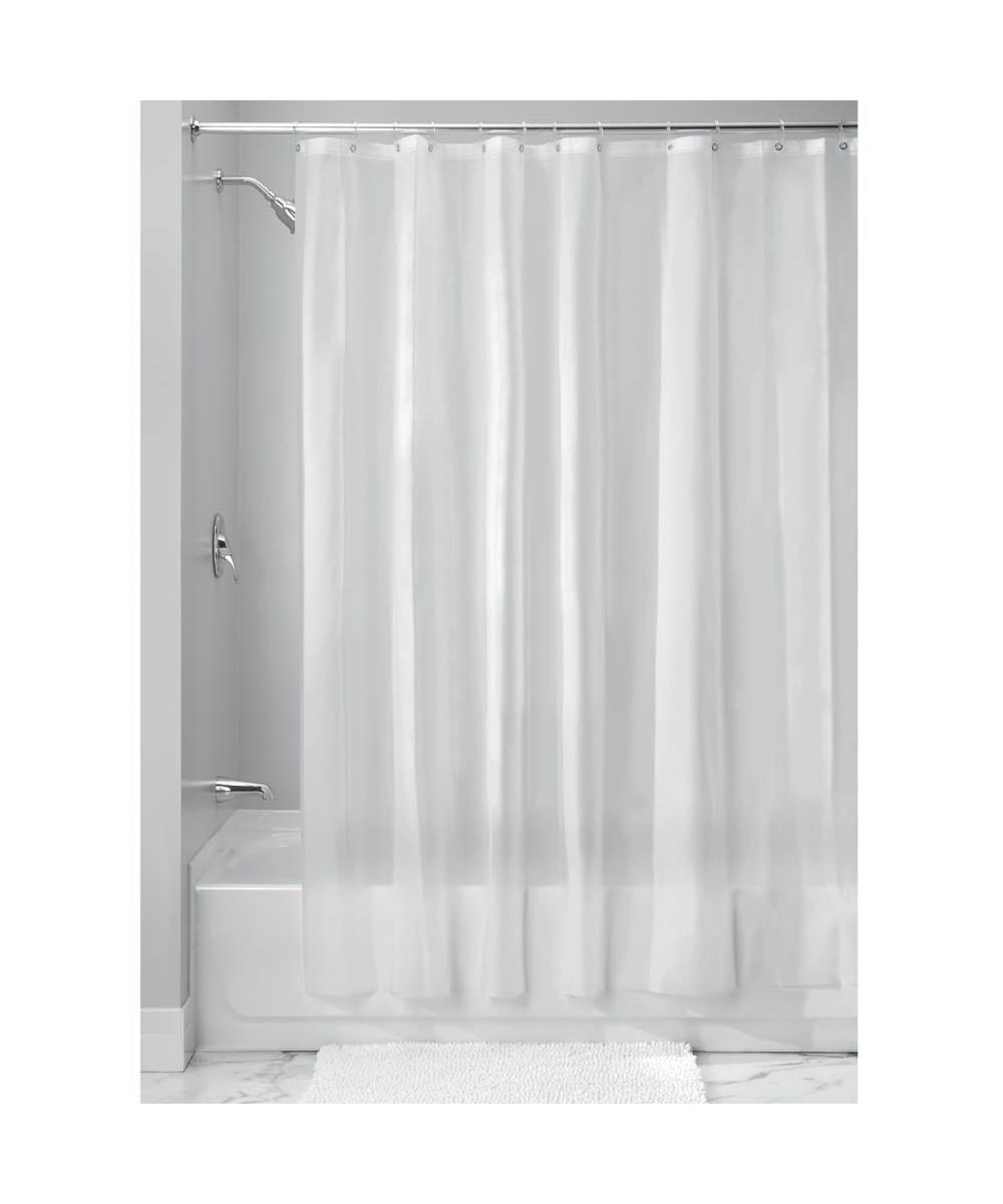 72x72 Inch EVA Vinyl PVC-Free Shower Curtain Liner with Metal Grommets, Frost Color