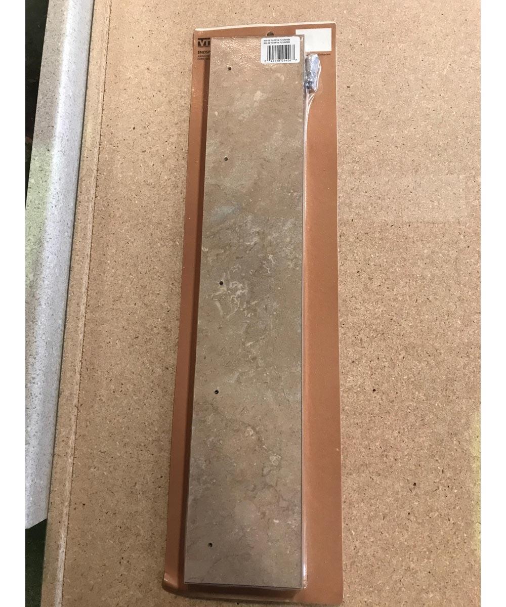 Countertop End Splash Kit, Travertine