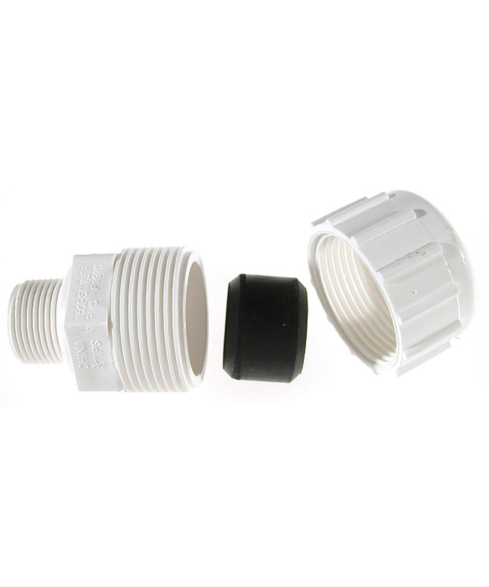 3/4 in. PVC Compression Male Adapters