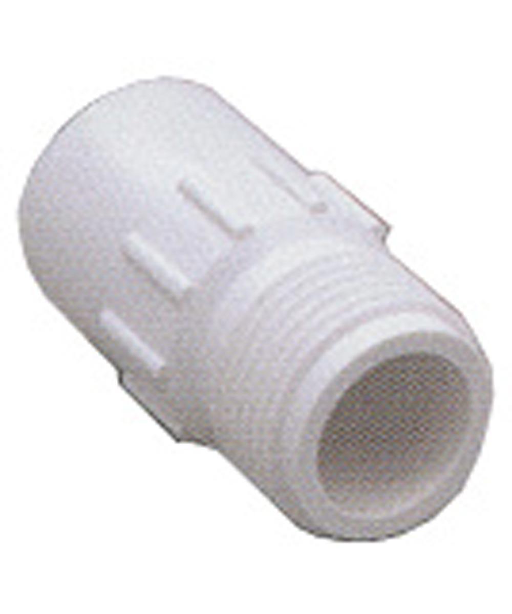 3/4 in. MHT x 1/2 in. Slip Plastic Hose-To-Pipe Fittings