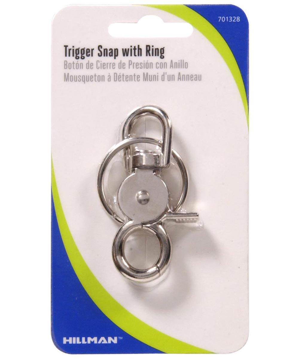 Metal Trigger Snap With Key Ring