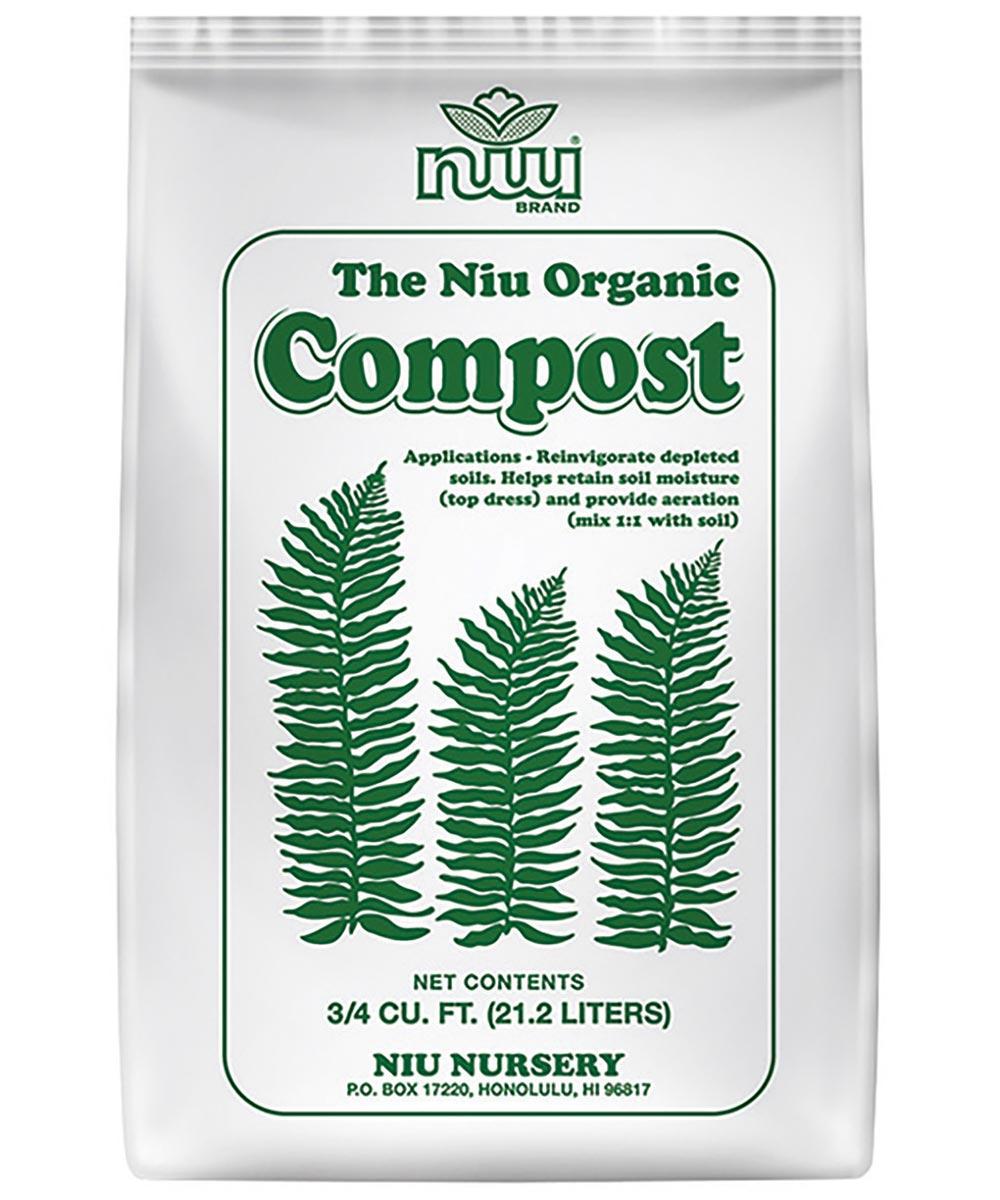 Organic Compost, 3/4 cu. ft.
