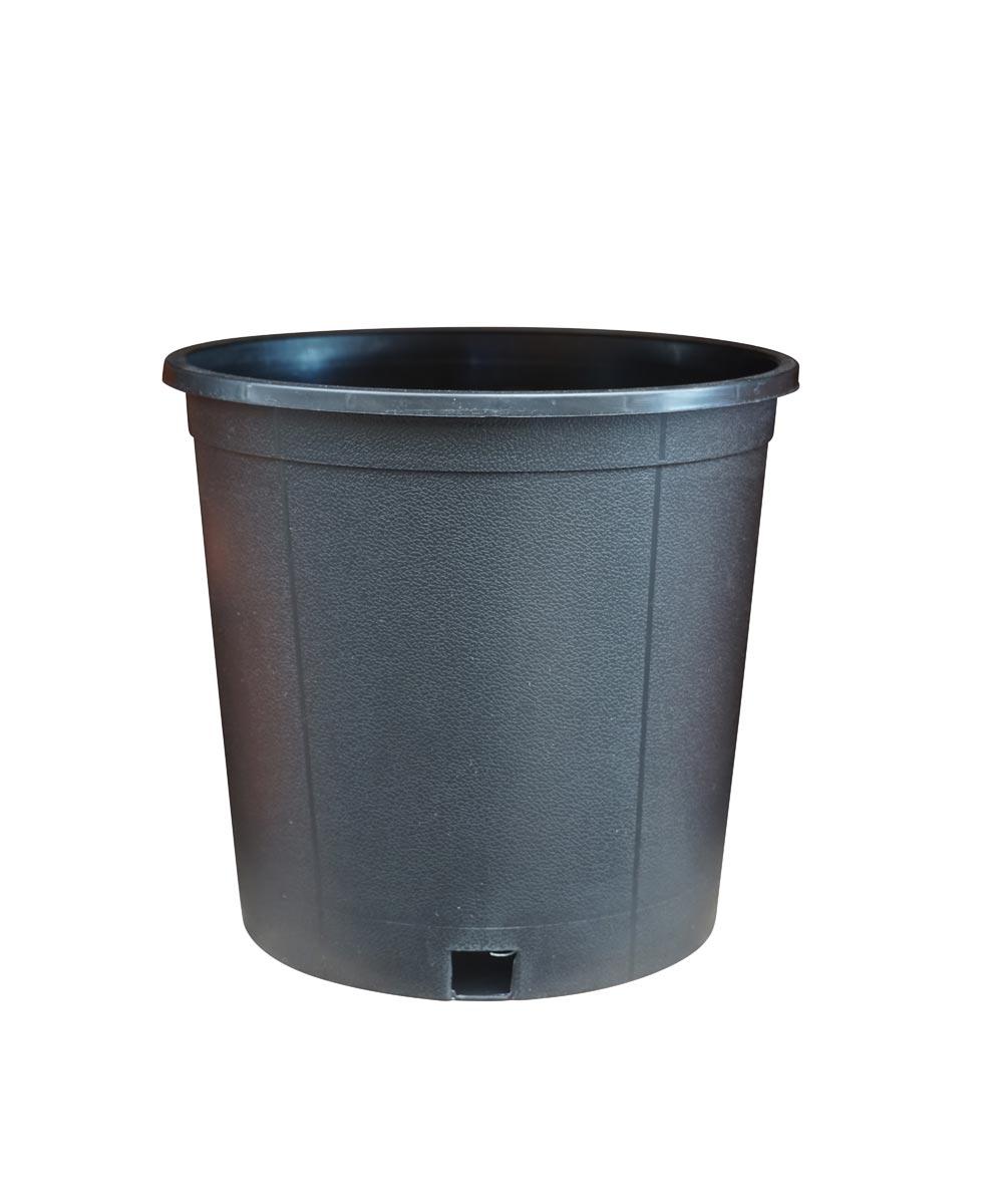 2 Gallon Nursery Pot, Black