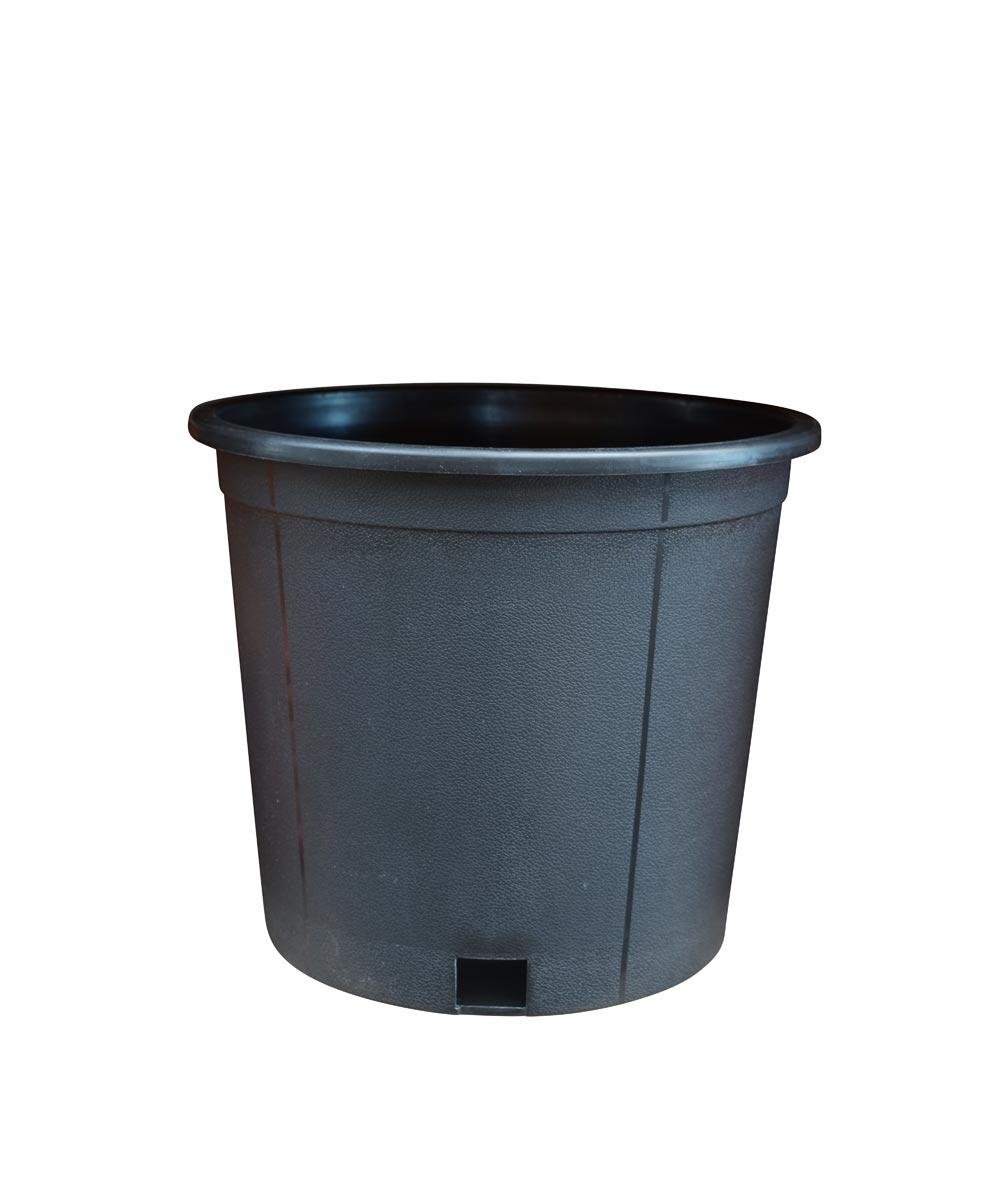 3 Gallon Nursery Pot, Black