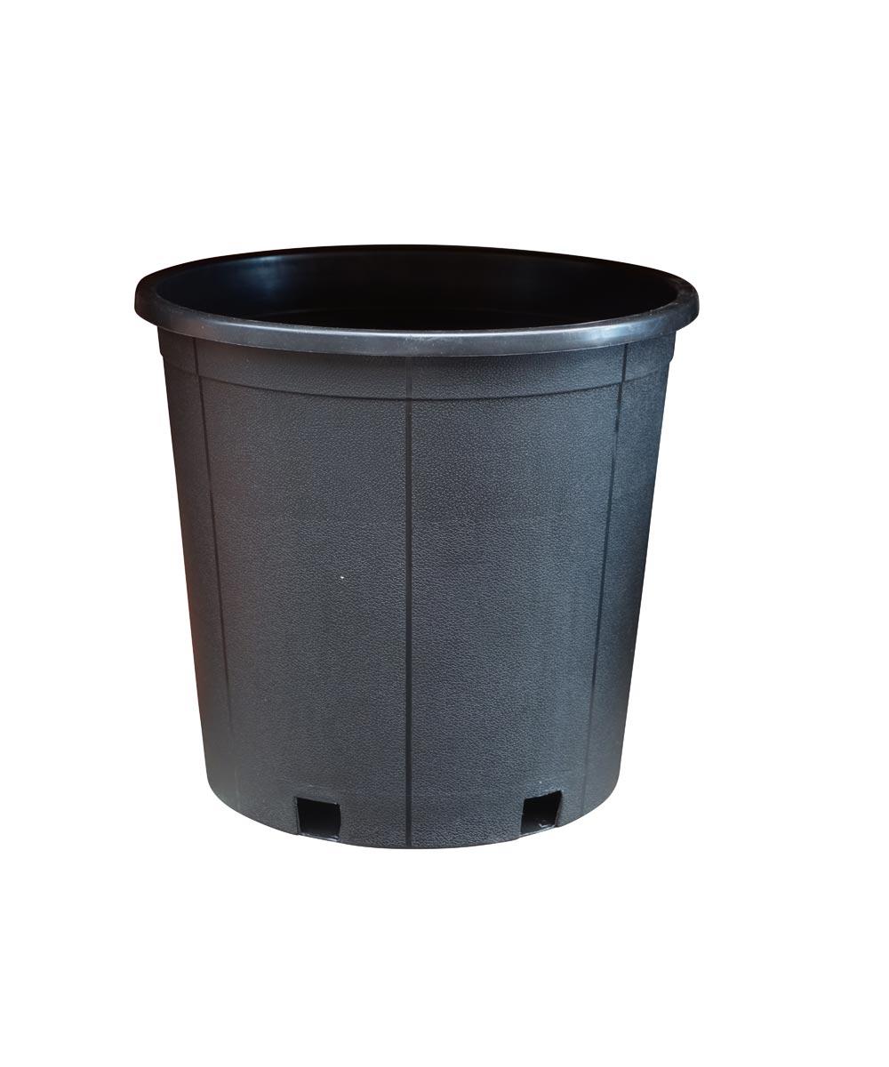 5 Gallon Tall Nursery Pot, Black