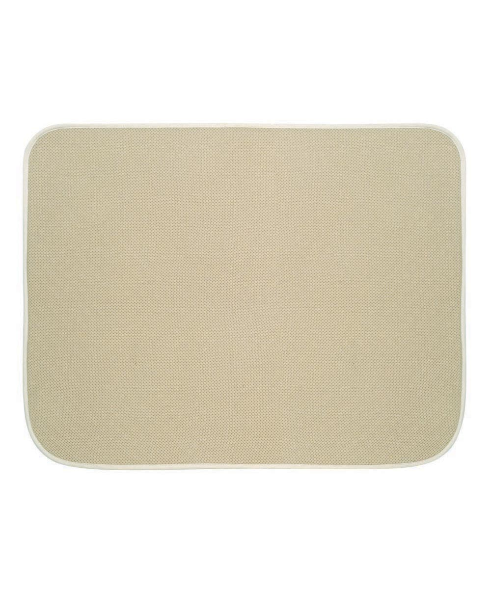 iDry Bath & Shower Microfiber Drying Mat, Wheat Color, 18x24 Inches