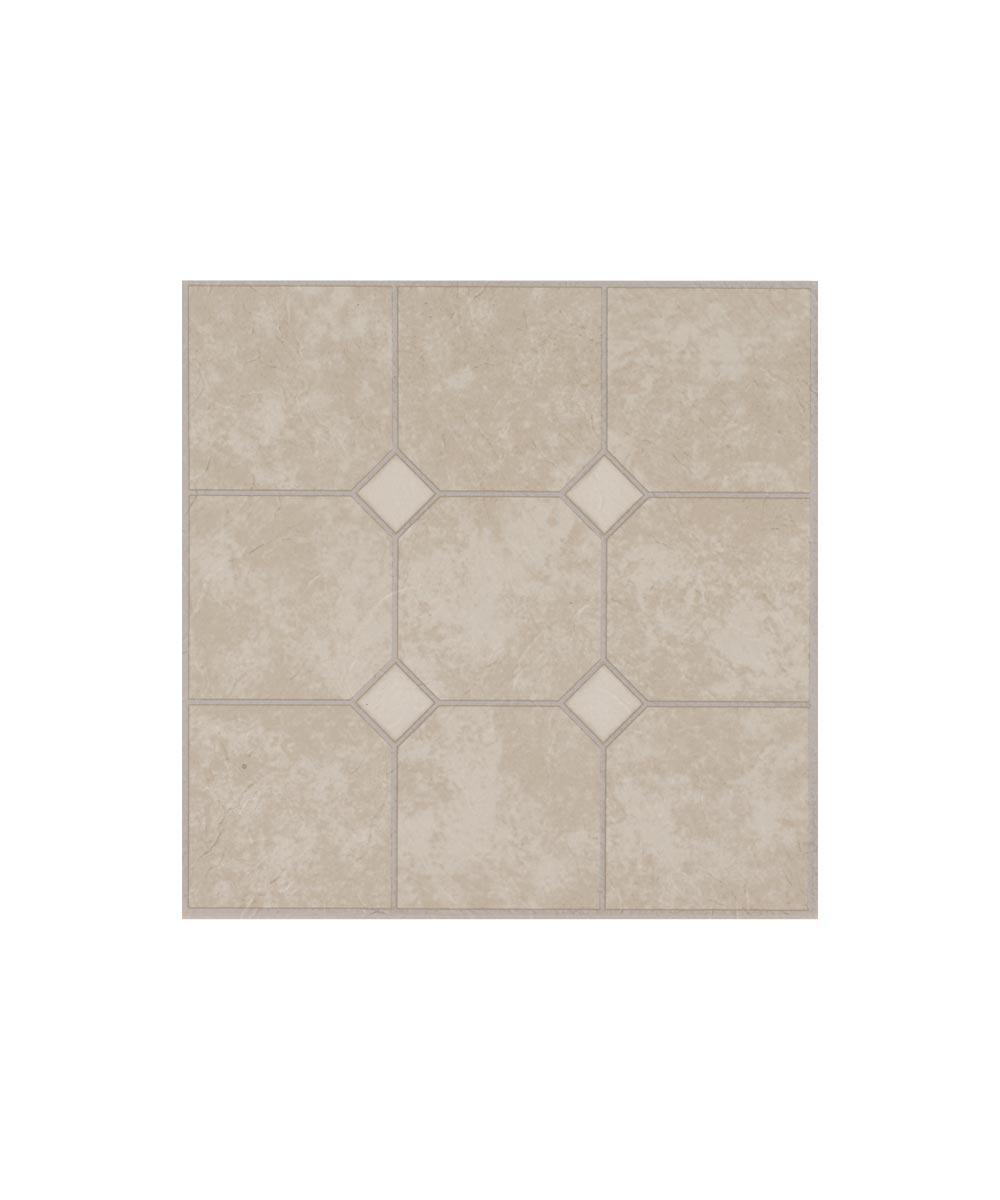 Vinyl Floor Tile Units, Sand