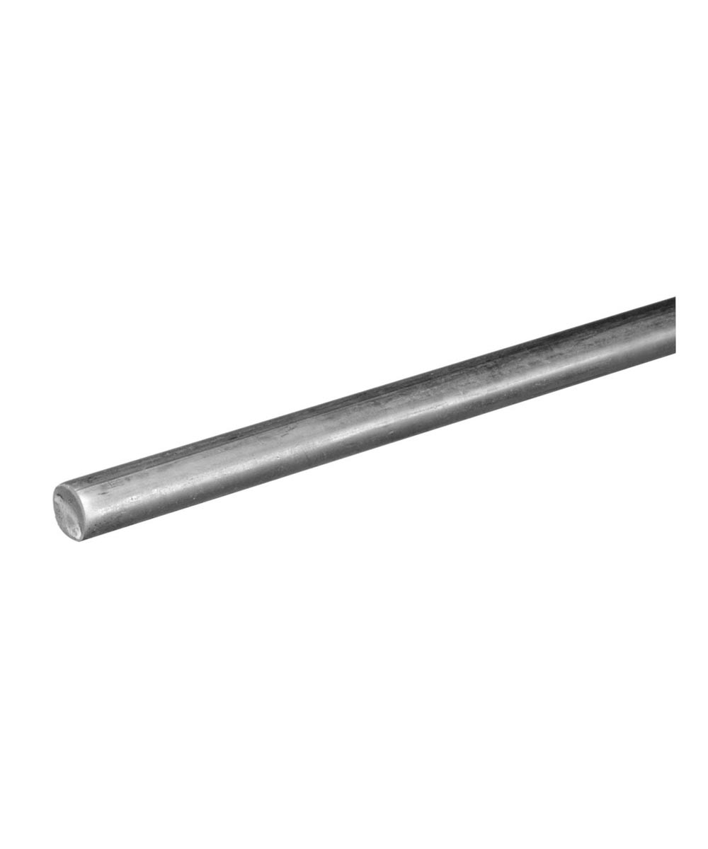The Steel Works Solid Rounds Zinc 3/8 in. x 3 ft.