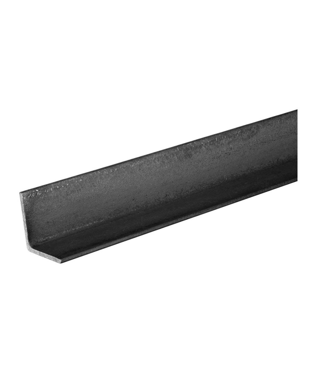 The Steel Works Weldable Hot Rolled Steel Angle 1/8 in. x 3/4 in. x 4 ft.