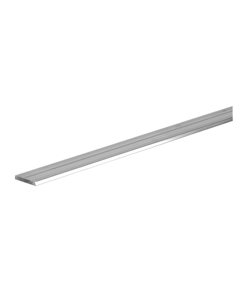 Aluminum Flat 1/8 in. x 1 in. x 3 ft. in.