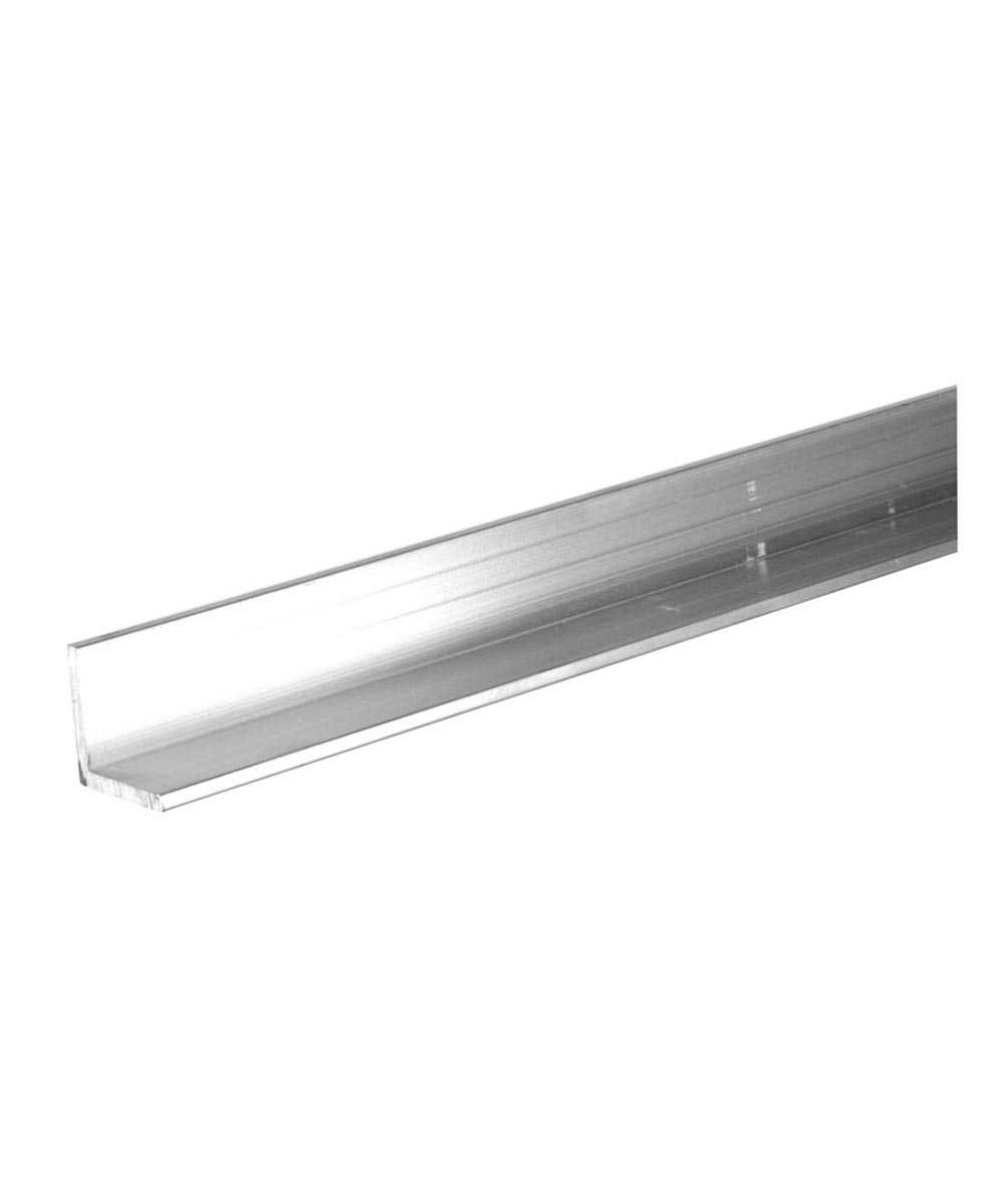 The Steel Works Aluminum Angle 1/8 in. x 1 in. x 6 ft.