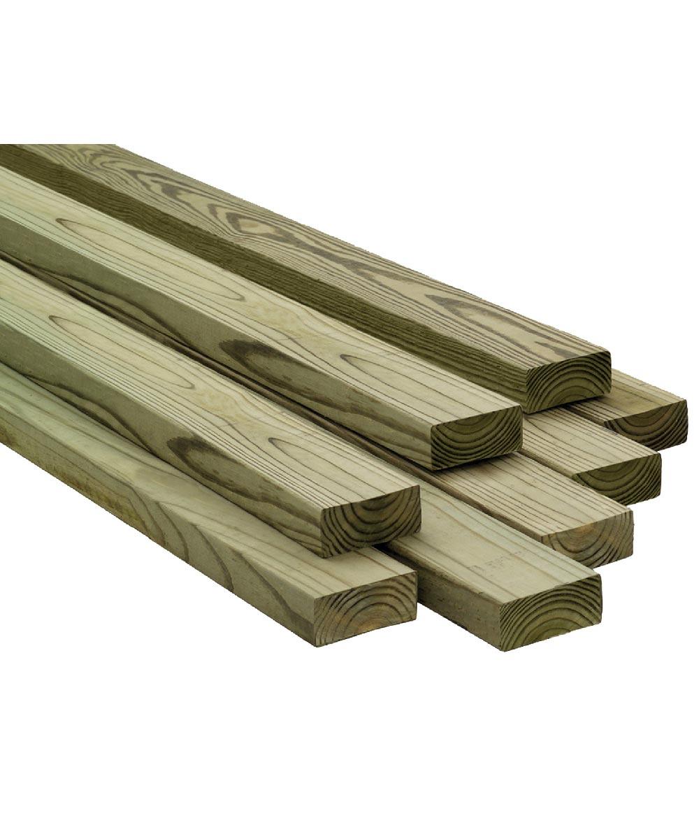 2 in. x 4 in. x 8 ft. #2/Btr Premium Treated Douglas Fir Lumber S4S