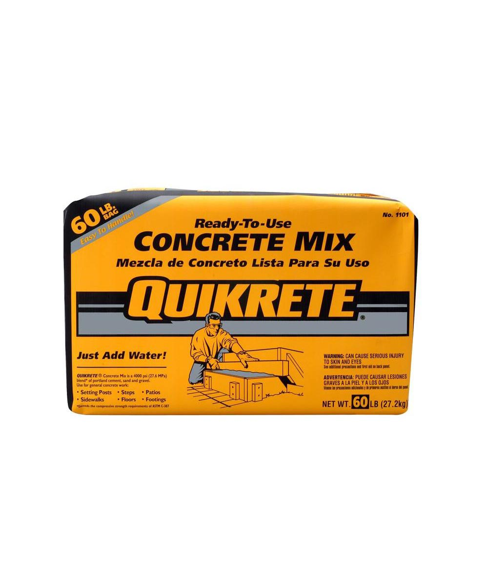 Quikrete 60 lb. Ready-to-Use Concrete Mix