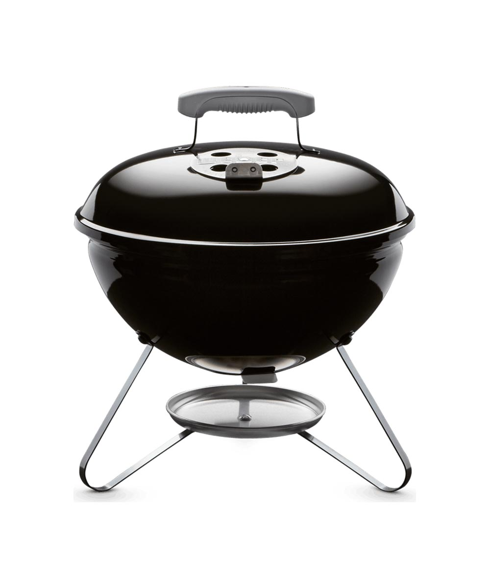 Weber 14 Inch Smokey Joe Portable Charcoal Grill, Black