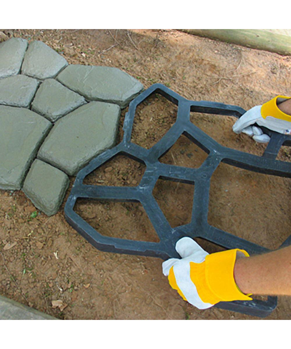 Walkmaker Country Stone Pattern Walkway Template Form
