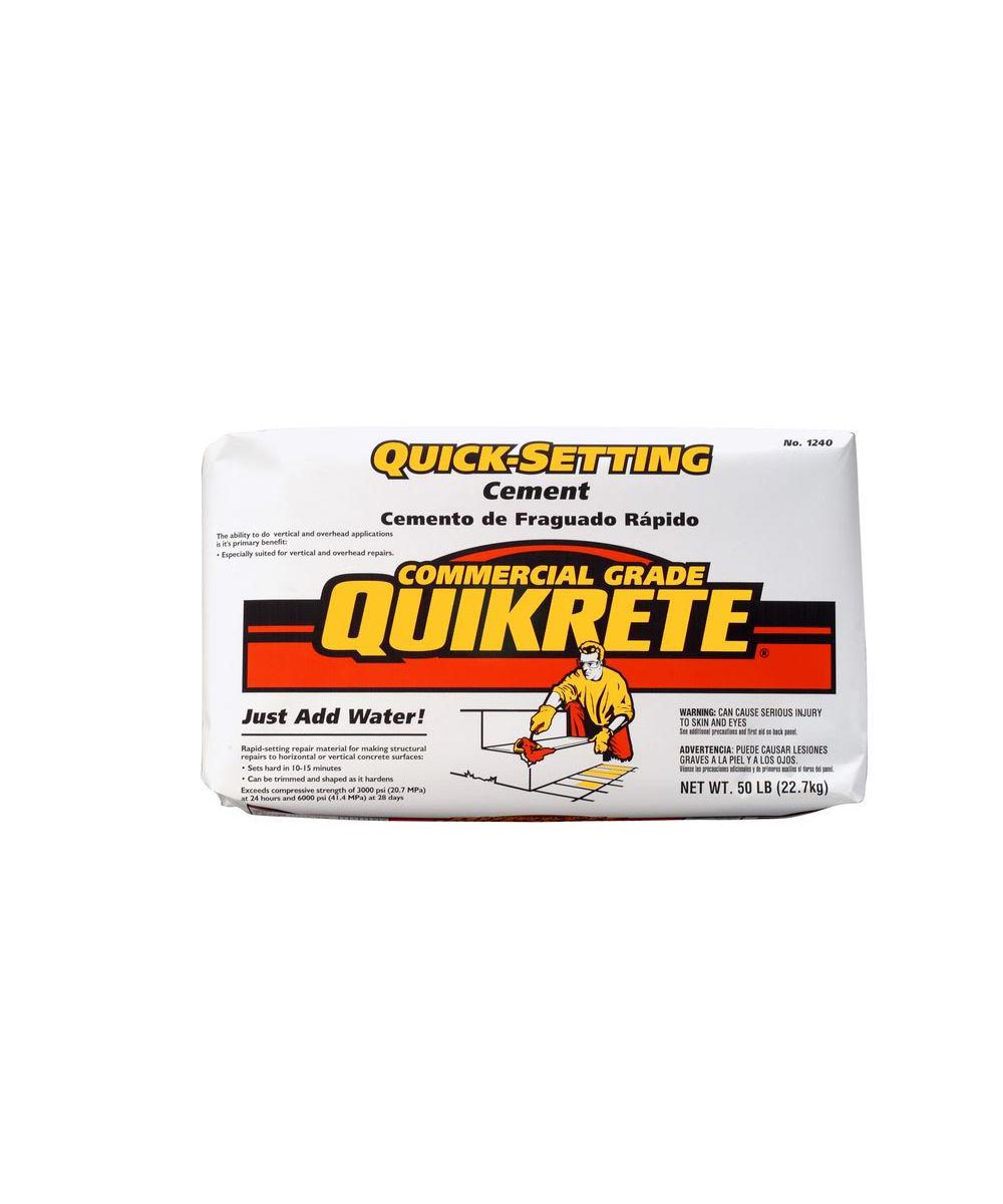 50 lb. Quick-Setting Cement
