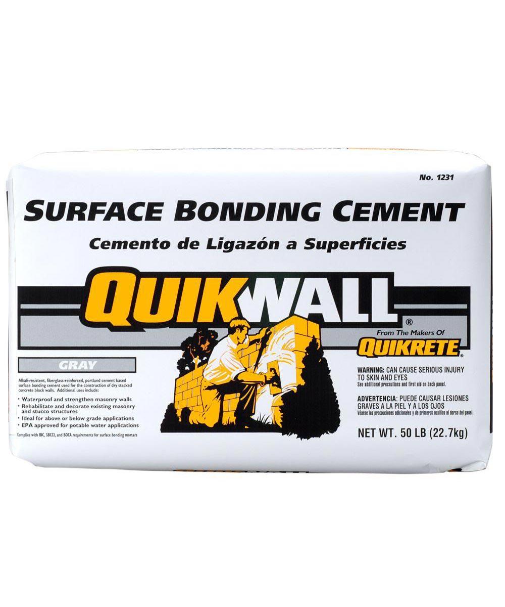 50 lb. Quikwall Gray Surface-Bonding Cement