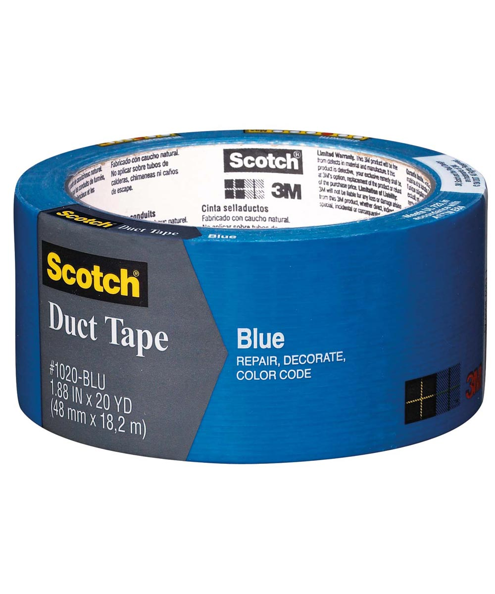1.88 in. x 20 Yards Blue Duct Tape