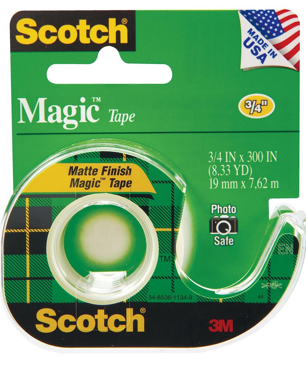 3/4 in. x 300 in. Scotch Magic Tape