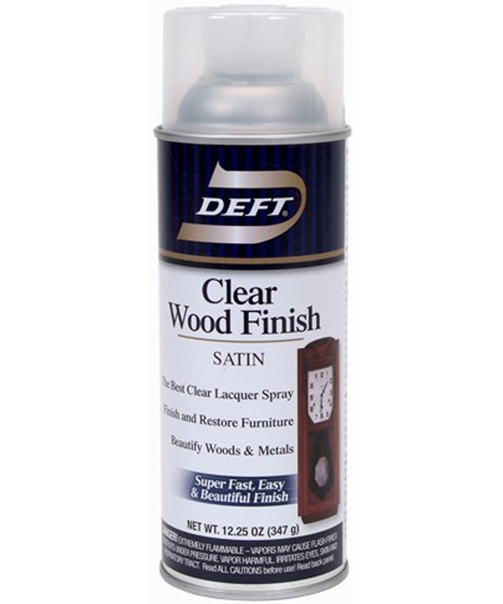 12.25 oz. Satin Clear Wood Finish
