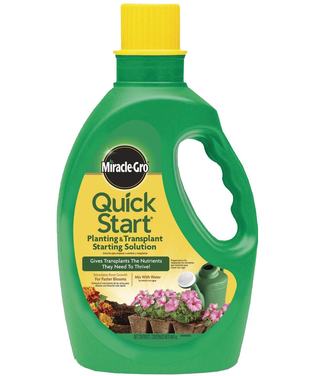 Miracle-Gro 48 oz. Liquid Quick Start Planting & Transplant Starting Solution