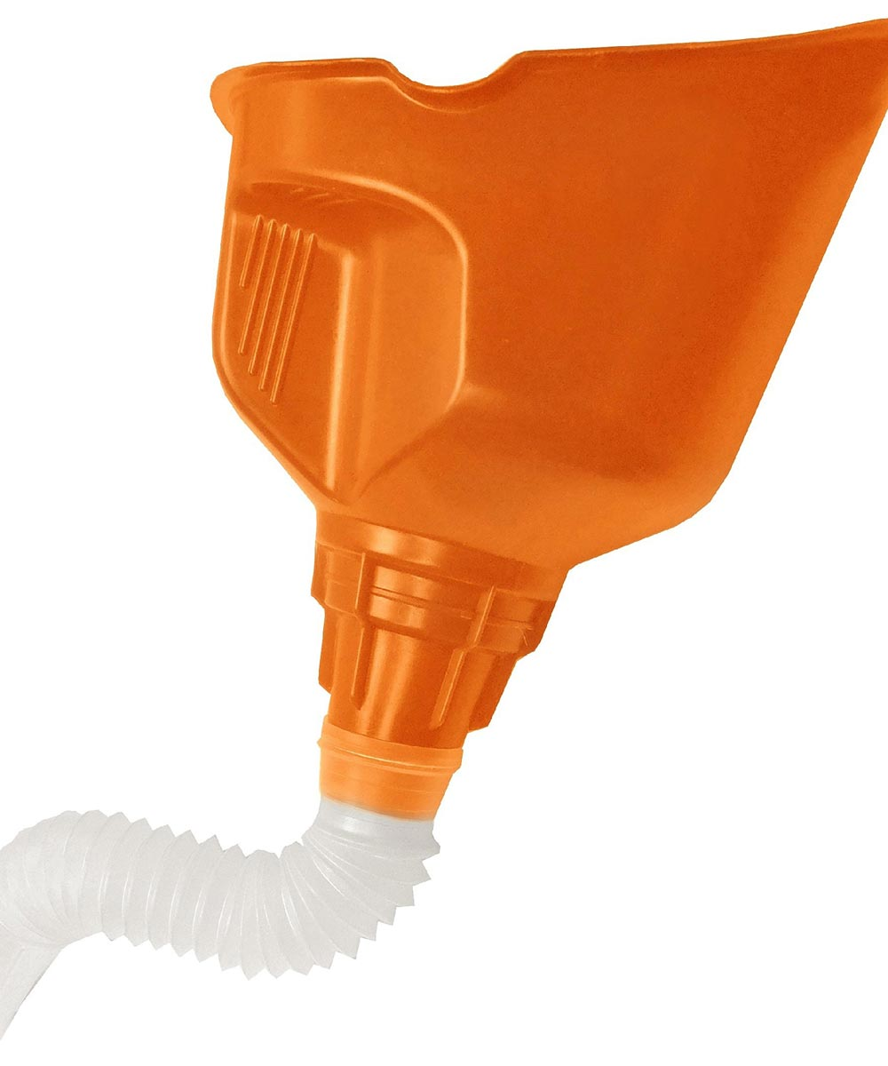 2 Piece Poly Flex Funnel With Built In Handle