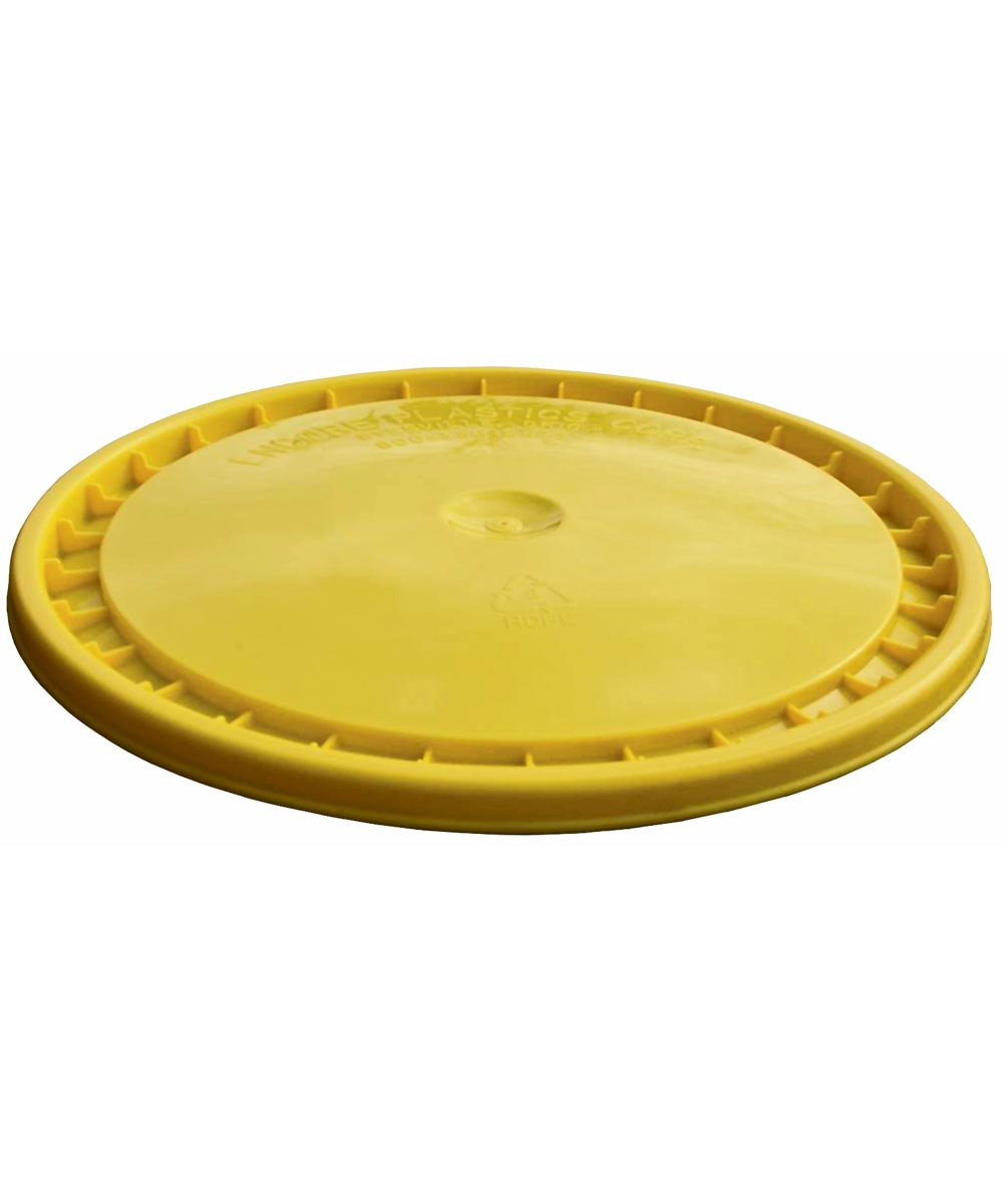 5 Gallon Yellow Bucket Lid