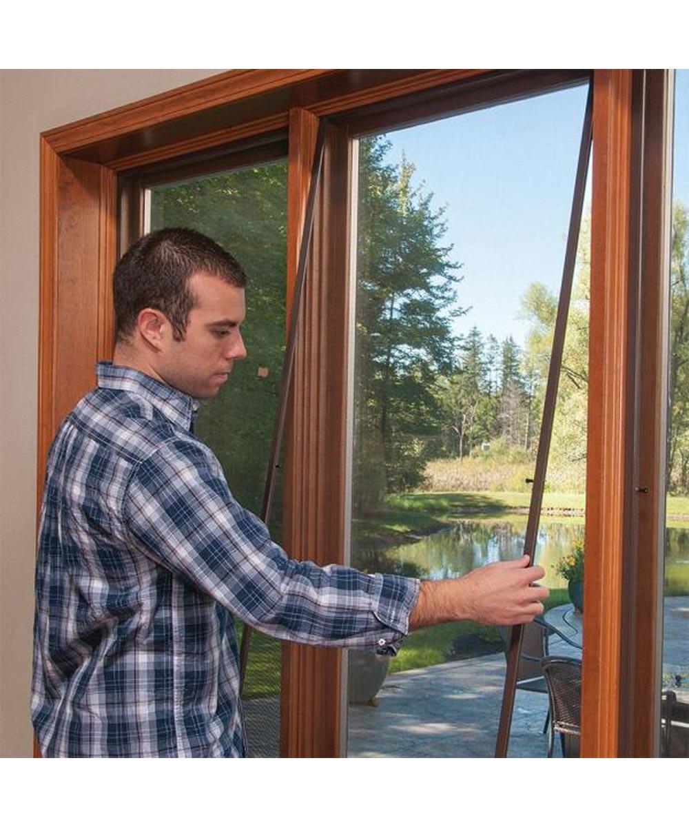 ADFORS 30 in. Wide Fiberglass Window Screen, Gray (Sold per Foot)