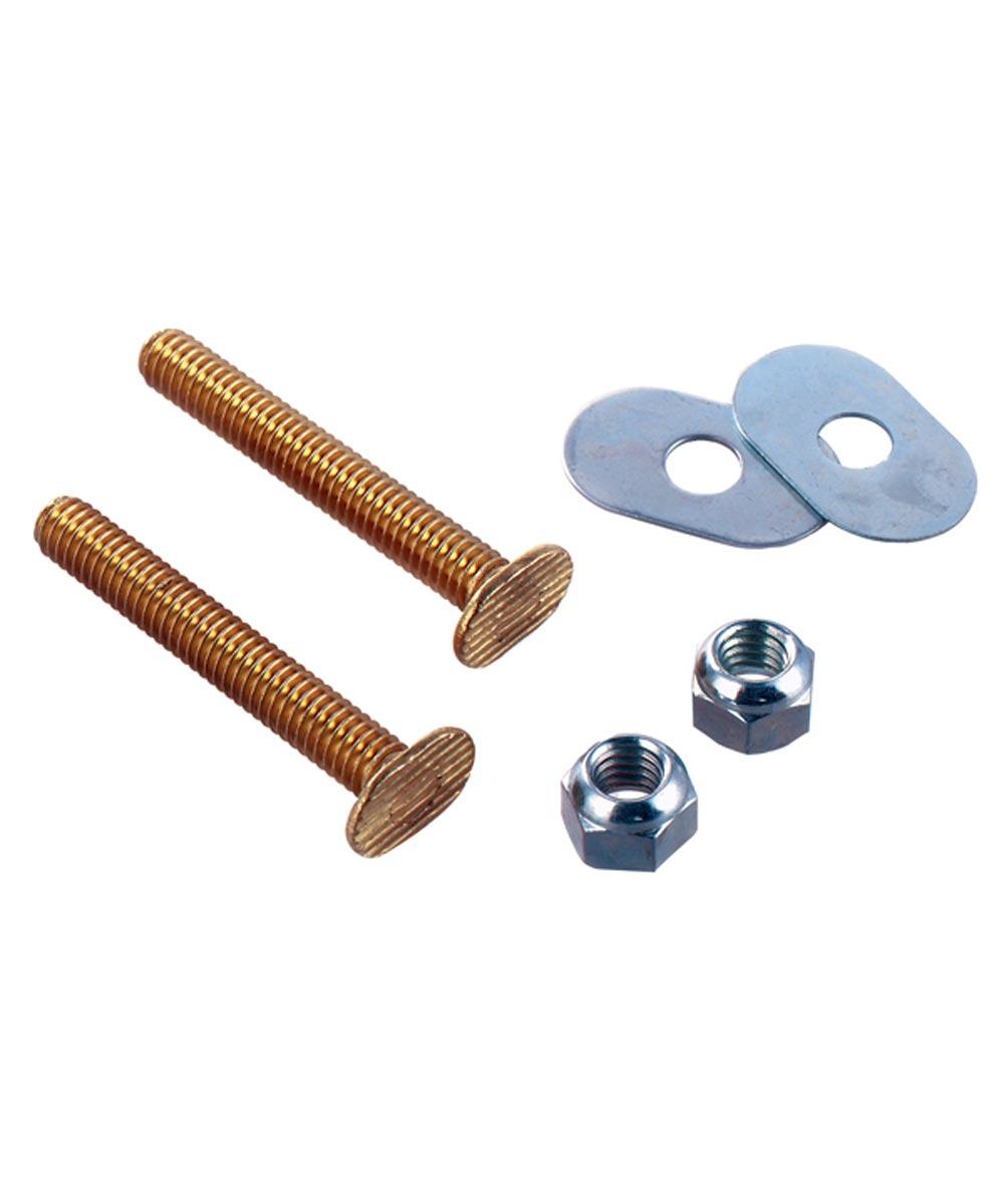 Toilet Bolt Set 5/16 Brass
