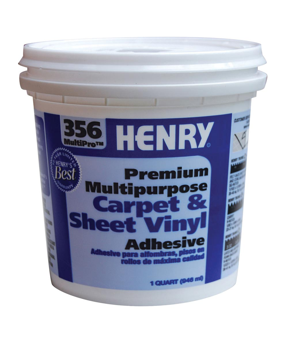 1 Quart Multipurpose Carpet & Sheet Vinyl Adhesive