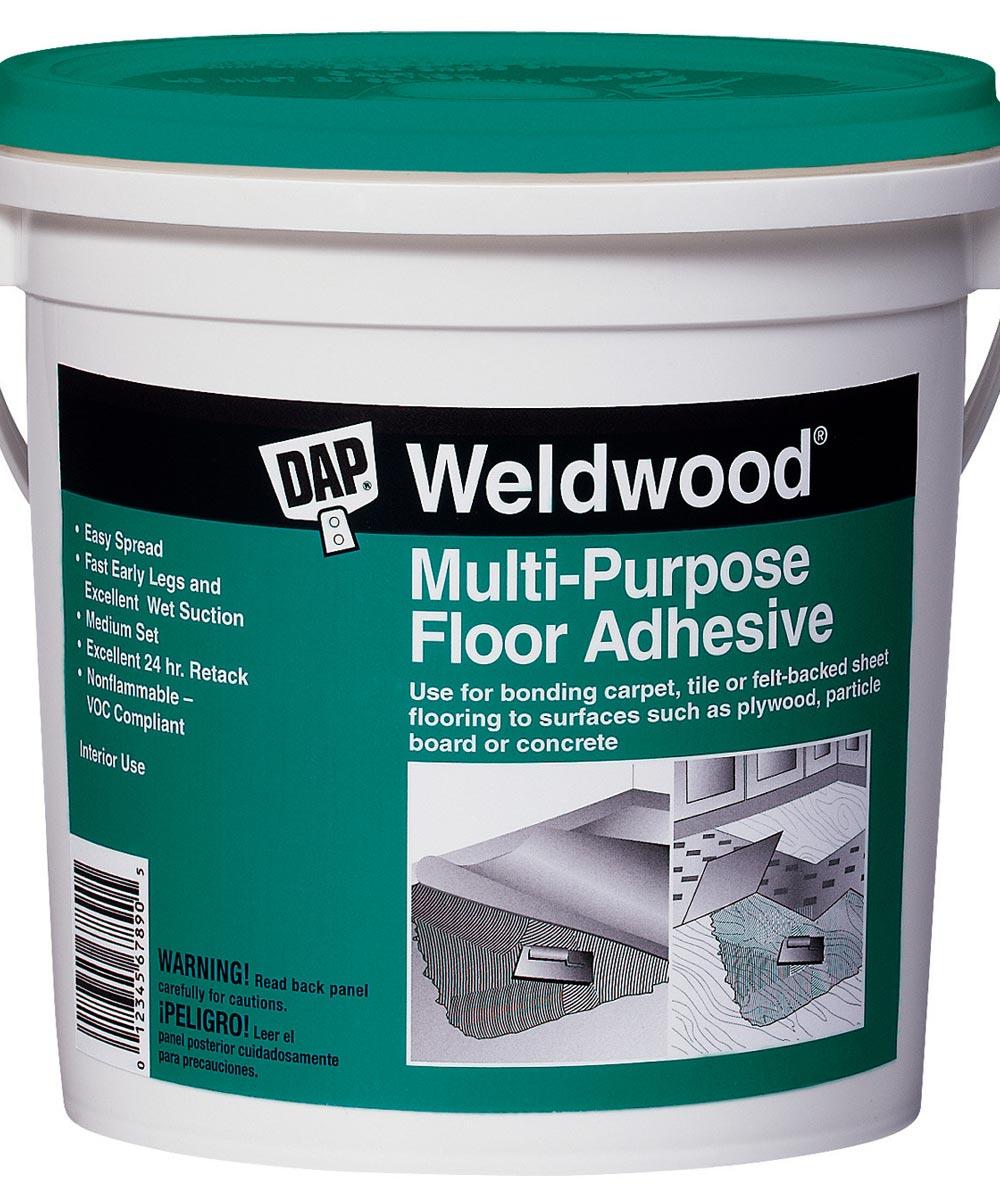 Quart Multipurpose Floor Adhesive