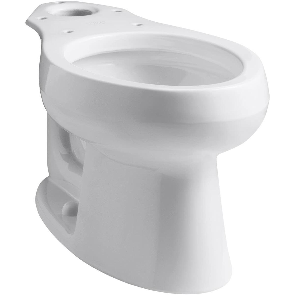 Kohler Wellworth Elongated Toilet Bowl, White