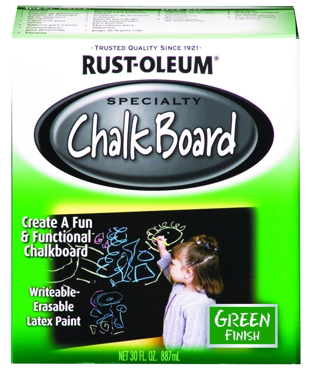 Specialty Chalkboard Brush-On, Quart, Green
