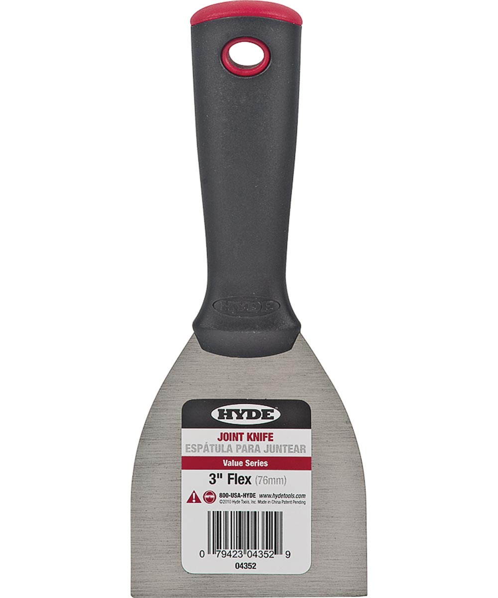 Value Series Joint Knives, Stamped Carbon Steel, 3 In. Blade Wdth