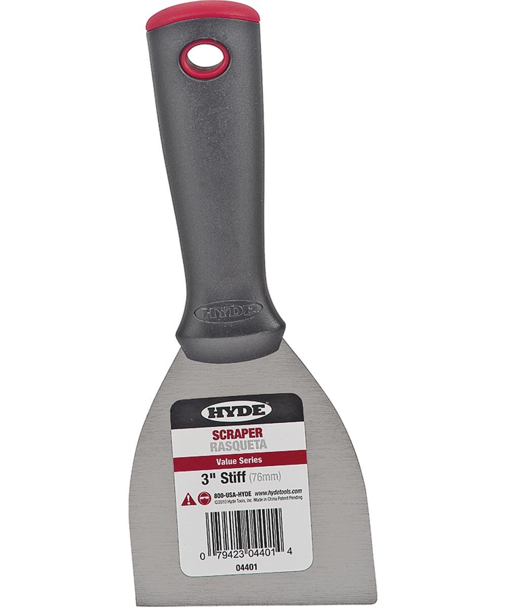Value Series Scrapers, Carbon Steel, 3 In. Blade Wdth