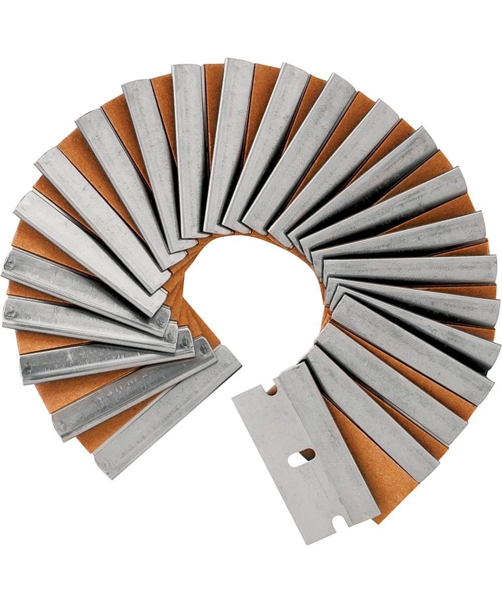 Tools Razor Blades, Single Edge - Clam Pack