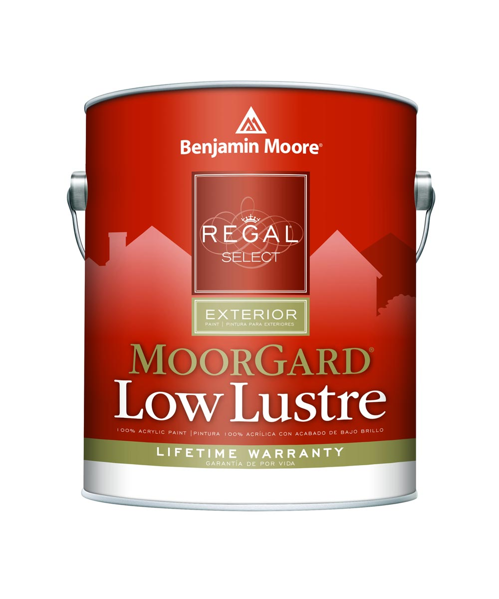 1 Gallon Regal Select Exterior MoorGard Low Lustre White Paint