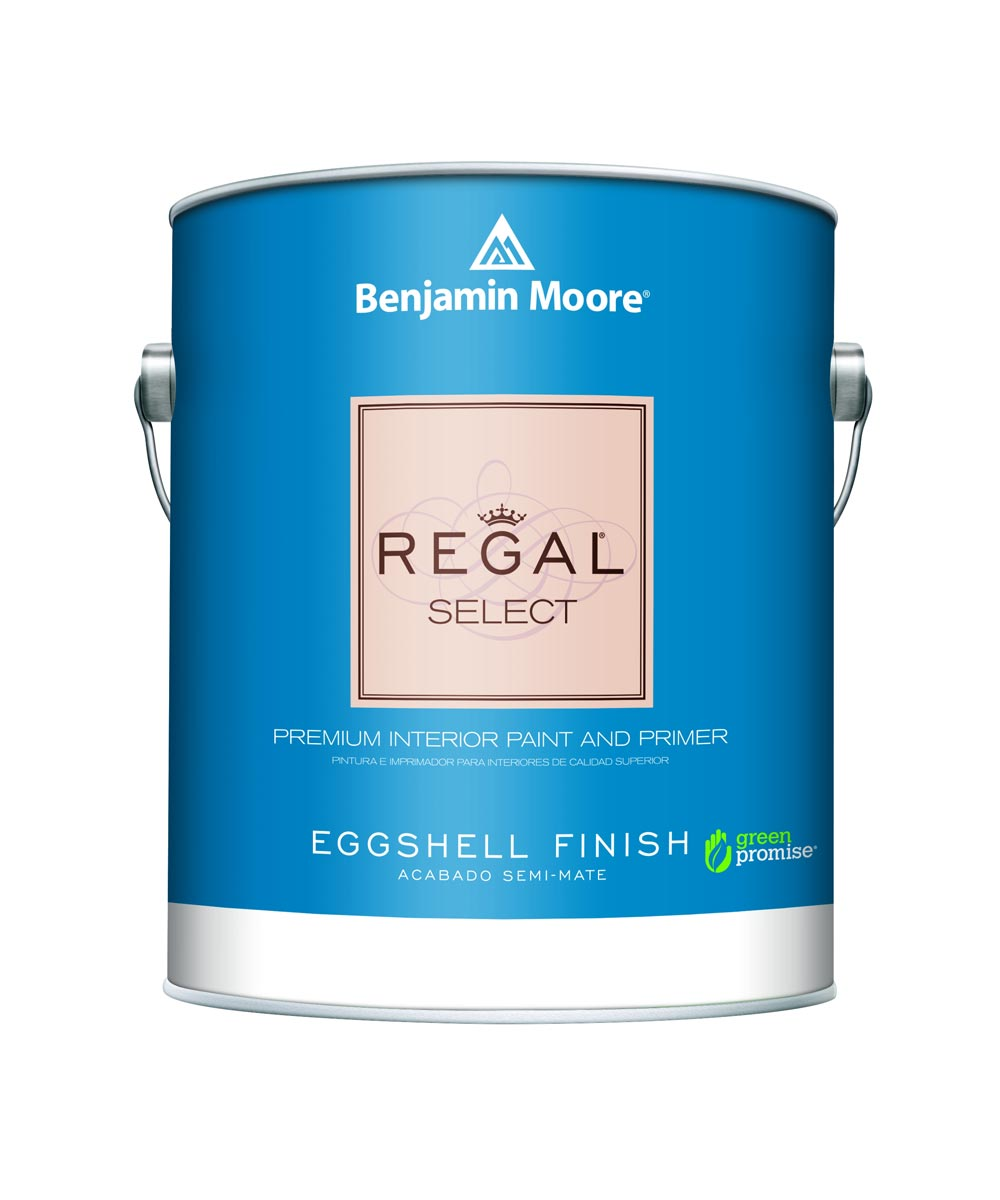 1 Quart Regal Select Waterborne Interior Eggshell White Paint